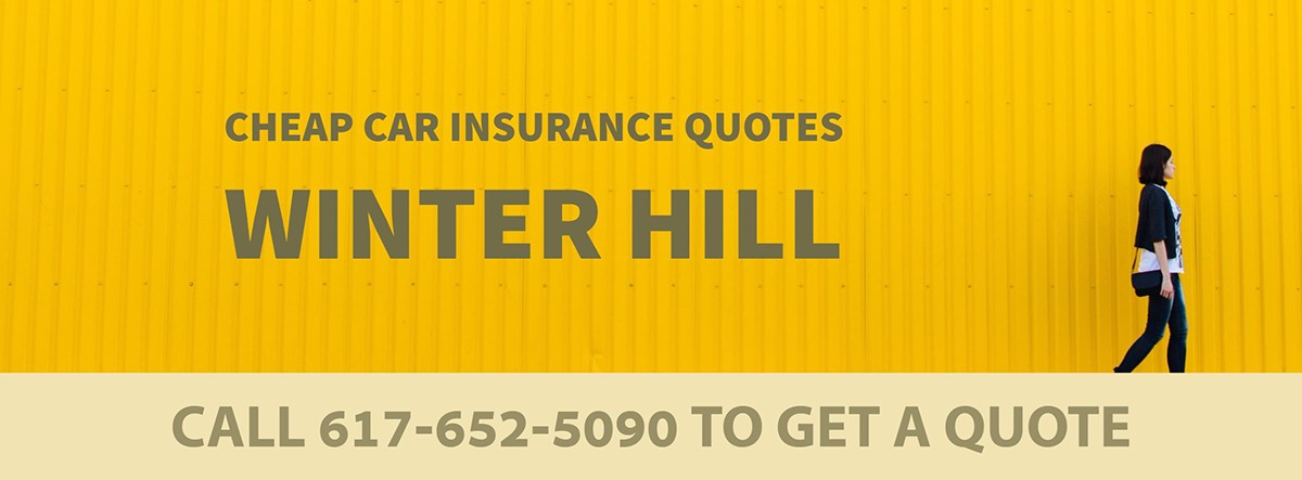 CHEAP CAR INSURANCE QUOTES WINTER HILL MA
