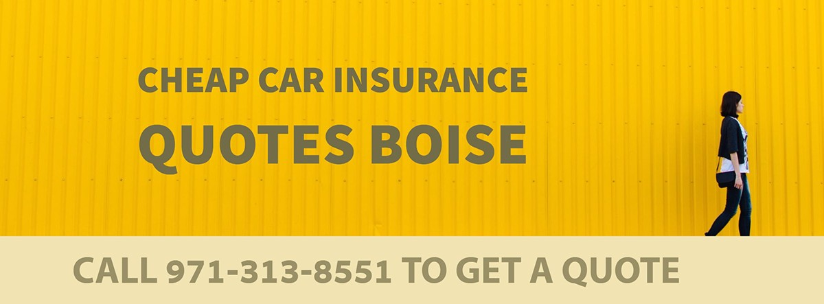 CHEAP CAR INSURANCE QUOTES BOISE OR